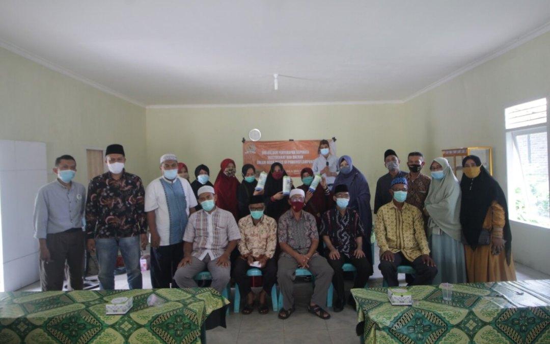 Anggota DPD RI ajak LAZDAI Lampung Launching Program Kampung Sedekah