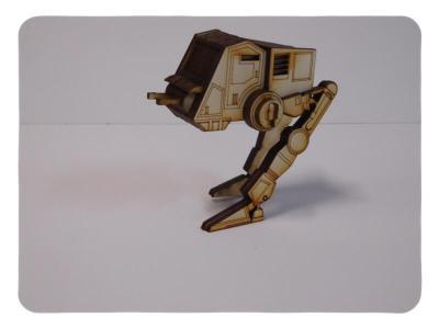 Wood Model Mini ATPT Puzzle Kit By-LazerModels