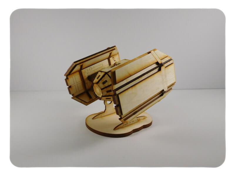Wood Model Kit AV1 By-LazerModels