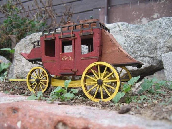 LazerModels StageCoach Painted