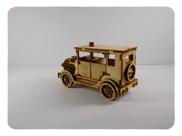 Wood Model Police Car Kit Deal By-LazerModels