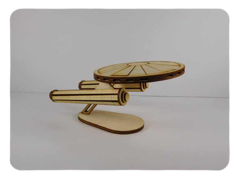 Wood Model SpaceShip Kit By-LazerModels