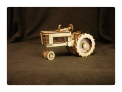 Wood Model Tractor Kit By-LazerModels