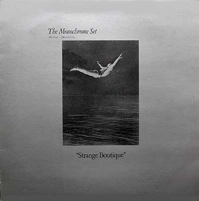 The Peter Saville-designed cover of the fantastic 'Strange Boutique' LP