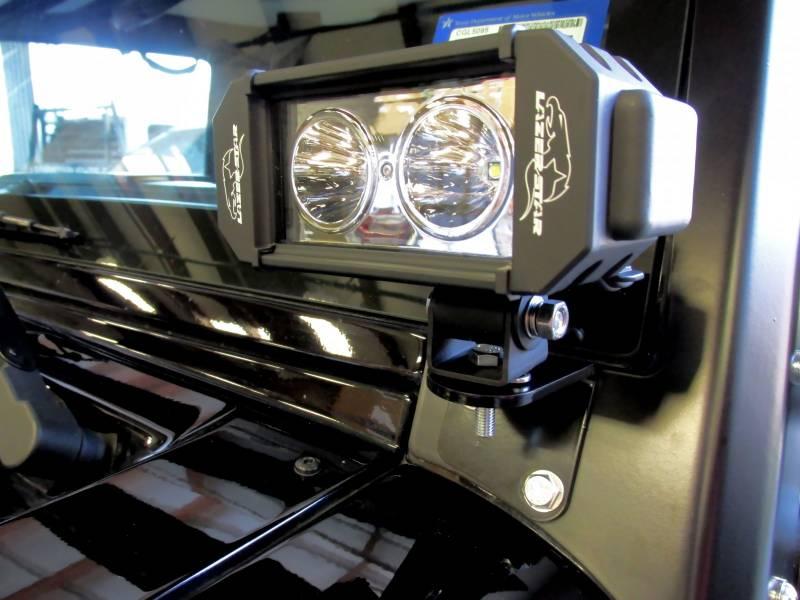 Lazer Star Jeep Kit 10 Watt LED Light Windshield Bracket