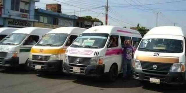 No aumentará el transporte público en Michoacán para 2018