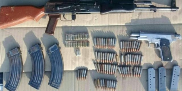 Detienen a 5 con armas en Villamar