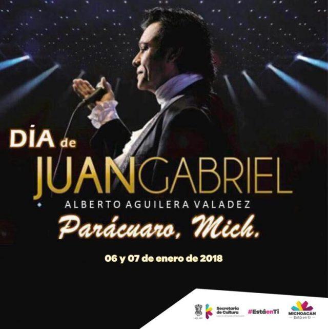 Parácuaro, listo para recordar natalicio de Juan Gabriel