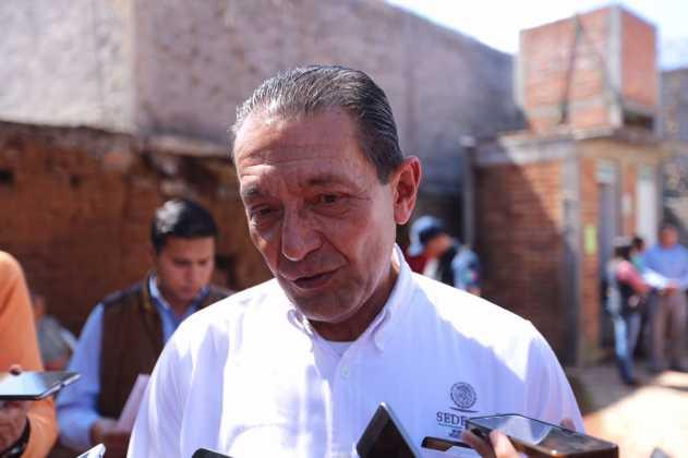 Víctor Tapia coordinador de campaña de Meade en Michoacán.