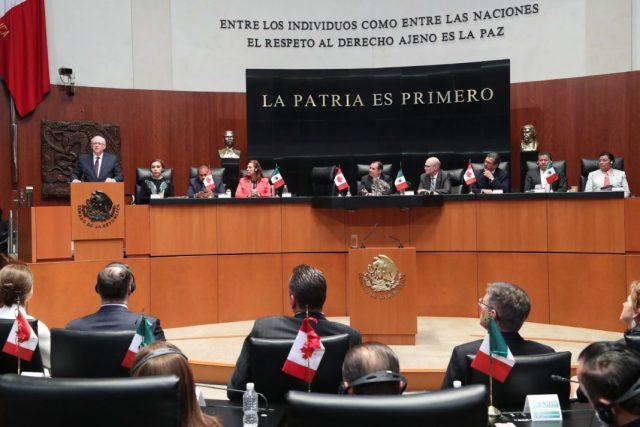 Resumen de la Sesión del Senado de la República.