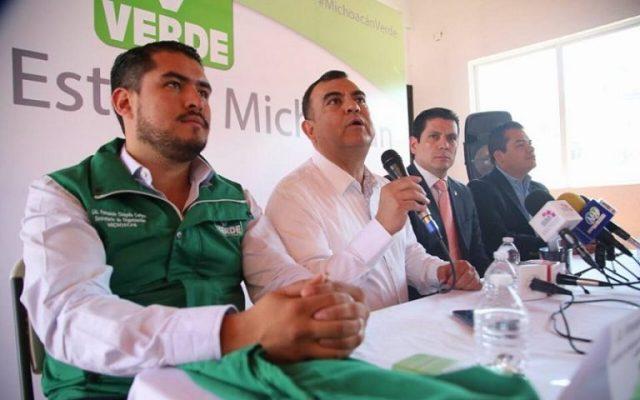 Coordinación municipal en Morelia Presentó PVEM.