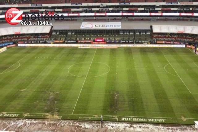 Fecha FIFA servirá para restaurar césped del Estadio Azteca