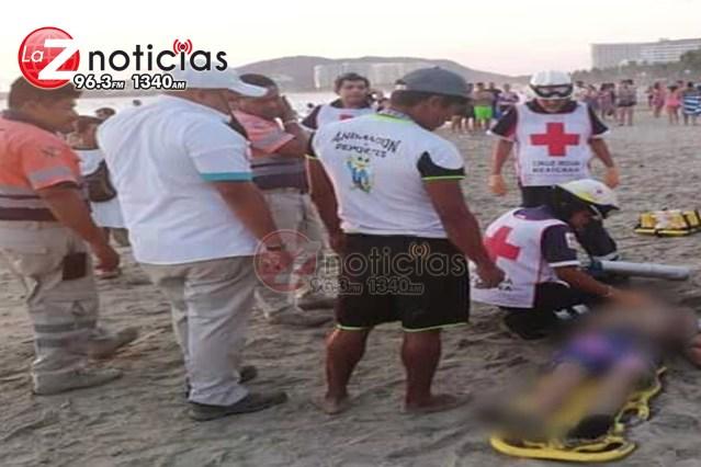 Michoacano muere ahogado en Ixtapa