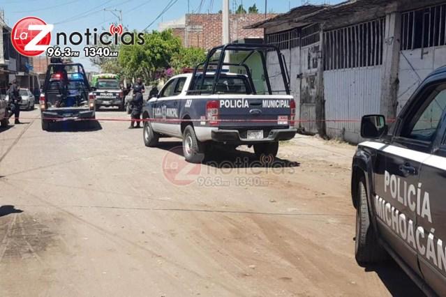 Gatilleros irrumpen en su casa y le dan muerte en Tangancícuaro