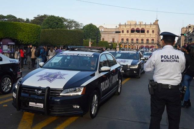 Policías de Morelia amagan con realizar paro de labores este viernes