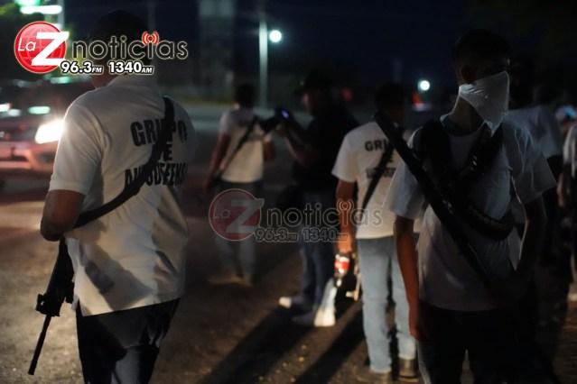Origen de los grupos de autodefensa, es la ausencia de autoridades; diputados