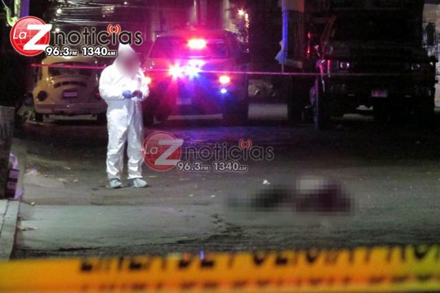 Asesinan a transeúnte en la colonia Eduardo Ruiz