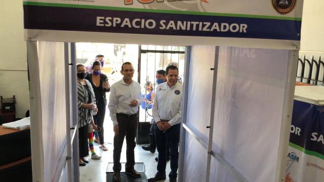 Tecnológico de Morelia instala túnel sanitizante en ASM
