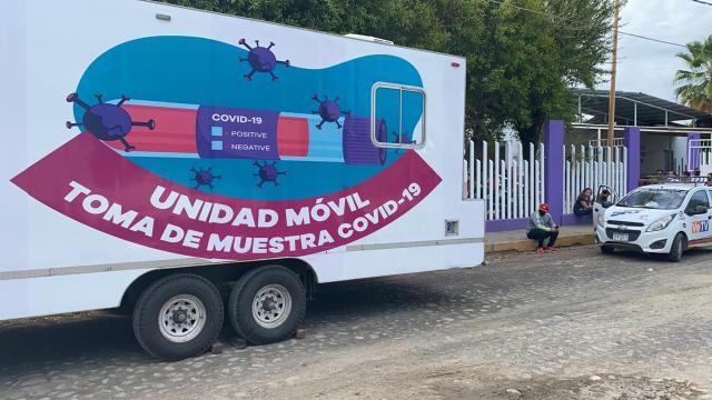 Mil 671 muestras de COVID-19 ha aplicado SSM en cuatro municipios de alta incidencia