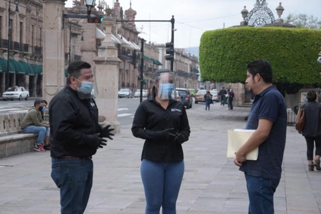 Por el cuidado de la salud de los morelianos, Raúl Morón dio inicio a brigada de inspectores sanitarios