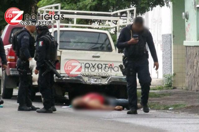 Atentado en la colonia El Duero de Zamora deja un hombre muerto y un lesionado