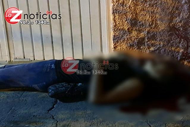 Mujer es ultimada a tiros en las calles de la colonia Ramírez, Zamora