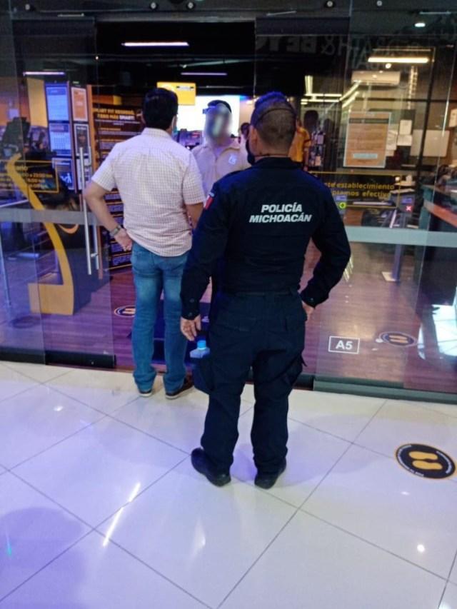 En operativo contra el COVID-19, detecta SSP operaciones en dos gimnasios de Morelia
