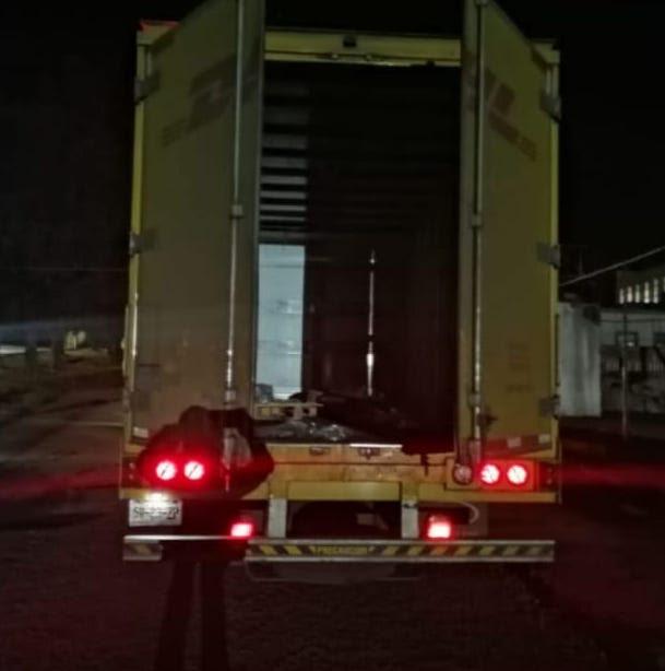 Recupera SSP camión con reporte de robo, en Morelia