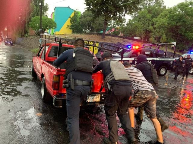Mantiene SSP acciones preventivas ante las lluvias registradas en Morelia