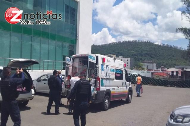 Cuentahabiente es baleado en el estacionamiento del Afirme «Mil Cumbres» en Morelia