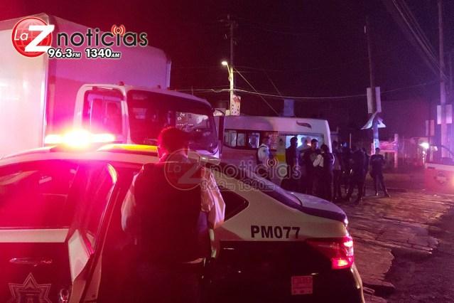 En combi de la Ruta Amarilla cometen varios robos en Morelia, son detenidos