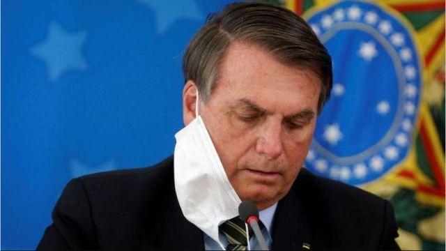 Jair Bolsonaro, presidente de Brasil, da positivo a coronavirus