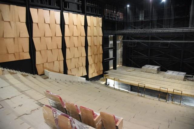 Concluida, primera etapa de acabados en el Teatro Mariano Matamoros