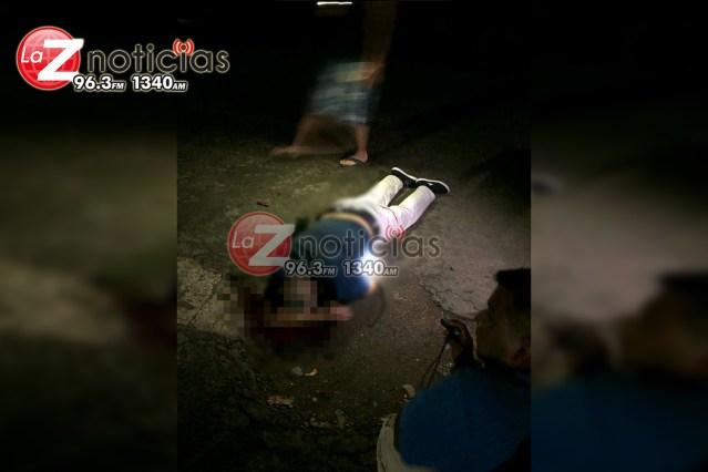 Hombre es muerto a tiros en el fraccionamiento Los Girasoles