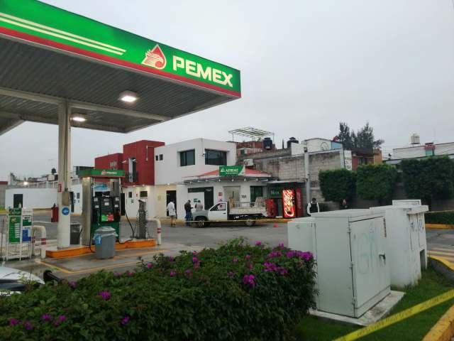 Cometen robo contra una gasolinera en Morelia, hay un detenido