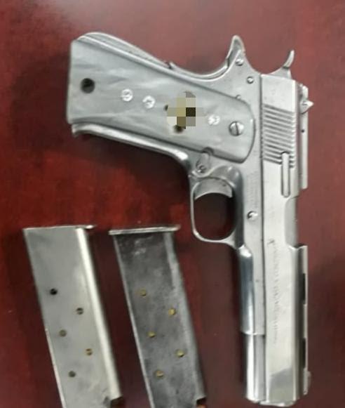 Detiene SSP a uno en posesión de arma de fuego y cartuchos, en Madero