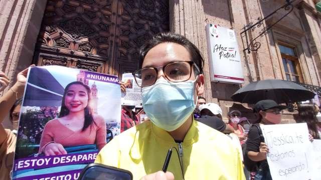Realizan protesta para la localizar sana y salva a joven desaparecida en Morelia