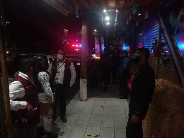 Solo 6 personas por ingerir bebidas embriagantes en la vía pública y 1 negocio clausurado, saldo de operativo mixto por fiestas patrias