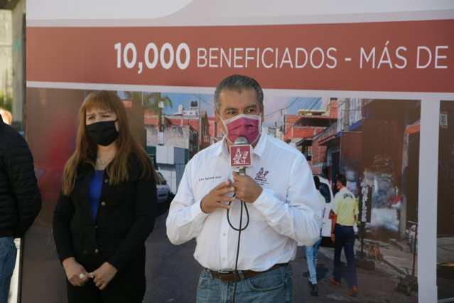 """""""La austeridad de mí gobierno ha permitido que la obra pública no se detenga"""": Raúl Morón"""