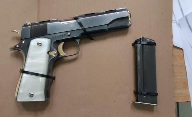 Asegura SSP a menor de edad en posesión de arma de fuego