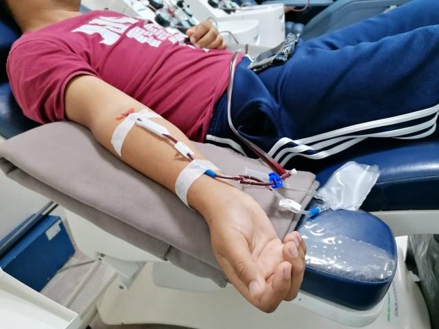 Donación de sangre, proceso seguro para los voluntarios