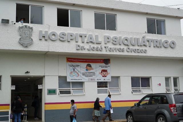 Personal del Hospital Psiquiátrico, comprometido con la salud mental de los michoacanos
