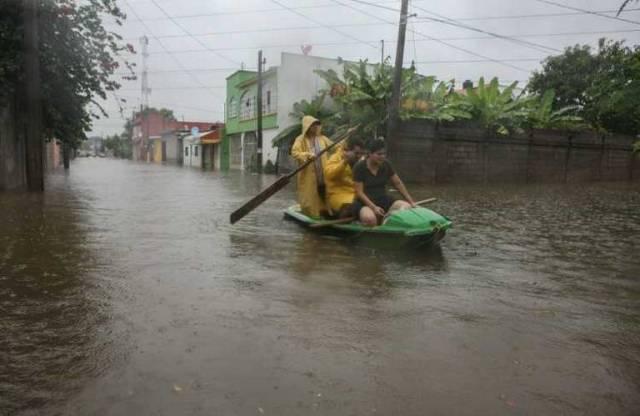 Van 591 mil damnificados por las lluvias, en Tabasco