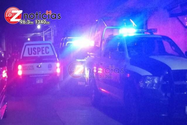Encapuchados balean a 2 hombres en domicilio de La Mintzita, Morelia