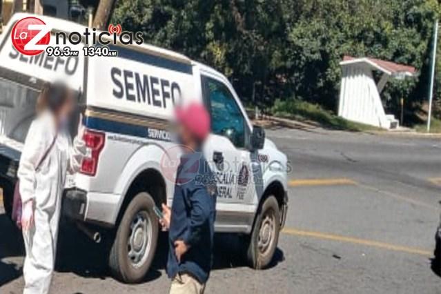 Hombre muere tras choque de 2 vehículos en la Pátzcuaro-Uruapan
