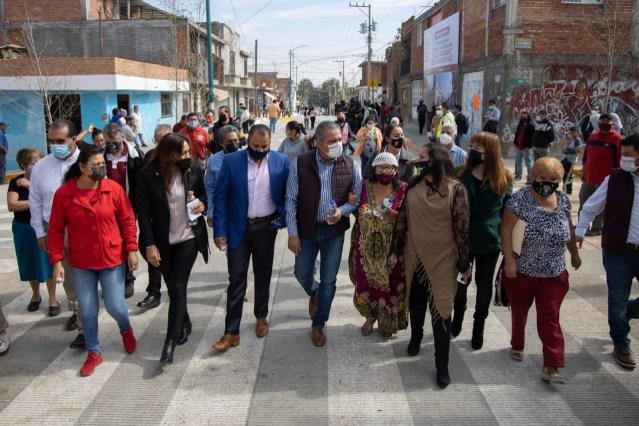 Invierte Raúl Morón 25 millones de pesos en regeneración vial de colonias populares