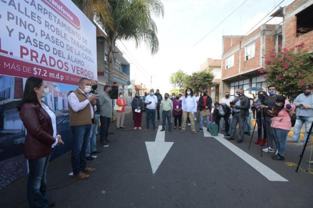 Con inversión de 20 millones de pesos, gobierno de Raúl Morón mejora vialidades en la colonia Prados Verdes
