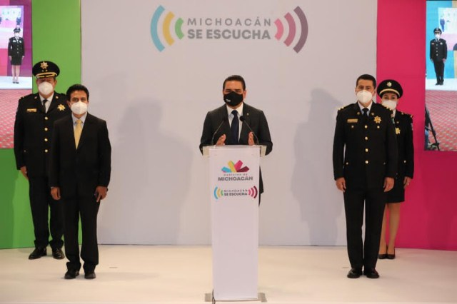 Michoacán, en batalla permanente por la seguridad: Silvano Aureoles