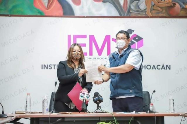 Un logro de todas, que agresores de mujeres no puedan ser candidatos en Michoacán: Nuria Hernández