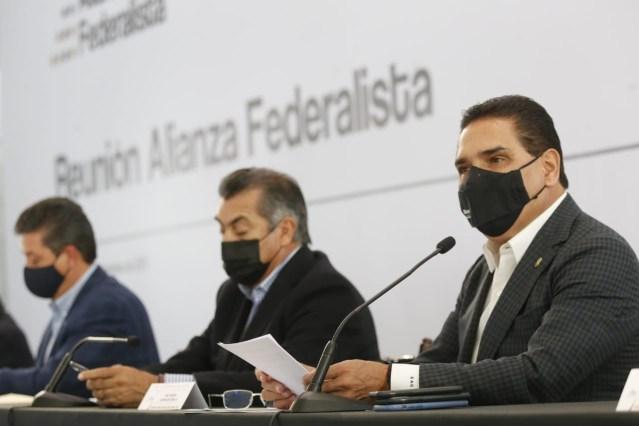 Urge Alianza Federalista reunión con Presidente para atender inseguridad en el país